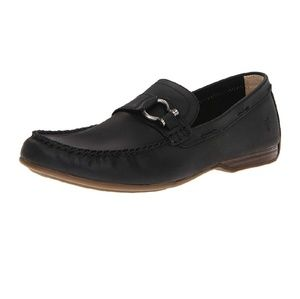 Frye Lewis Ring Men's Black Leather Loafers 7